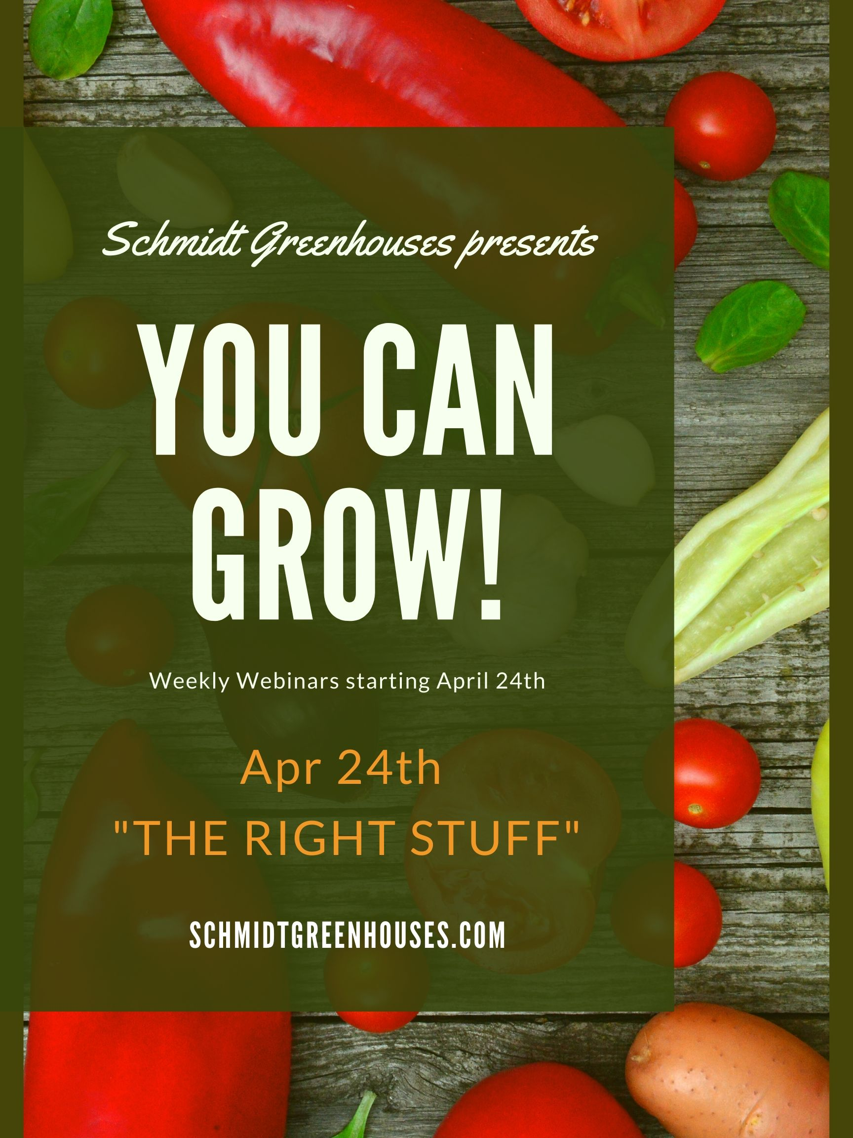 New to Gardening?  Check out our introductory videos from last spring!